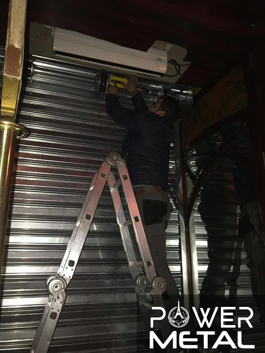 depannage rideau metallique paris